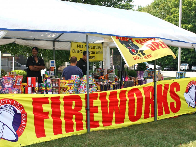 Fireworks Tents Here Draw Buyers From Over the Border | Ridgefield CT Patch & Fireworks Tents Here Draw Buyers From Over the Border | Ridgefield ...