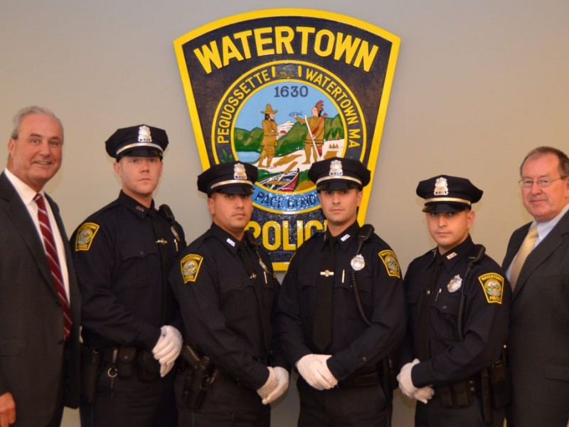 Watertown Police Department Welcomes 4 New Officers