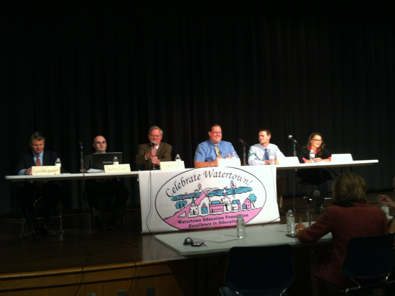 See the Views of the Watertown School Committee Candidates
