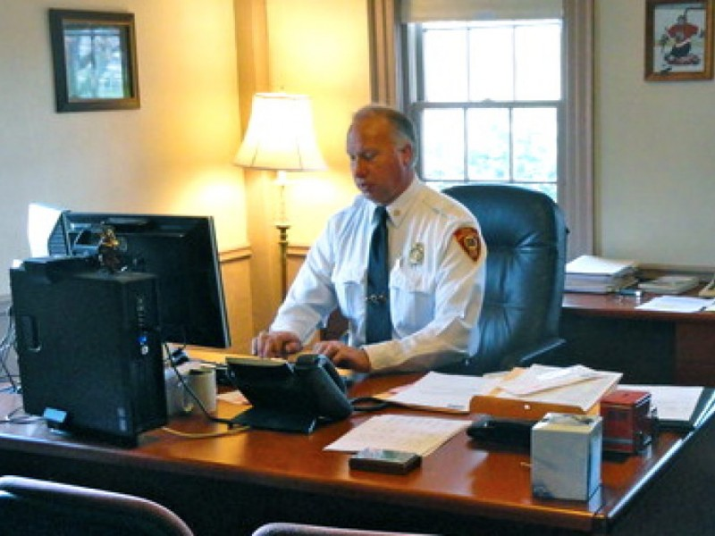 It S Final Day For Bitter Fire Chief East Providence