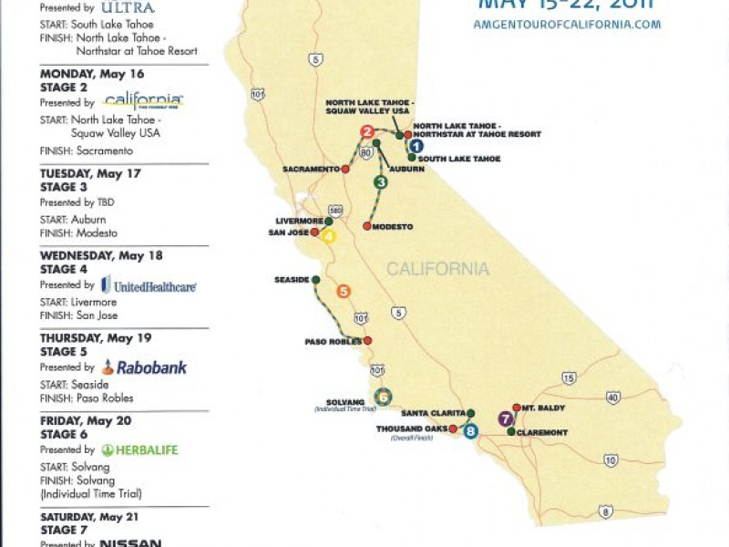 Heres Where You Can Watch Those Amgen Tour Bikers Whiz Through Town