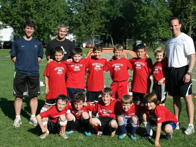 Hall Of Famer Coaches Ridgewood Travel Soccer Team 0