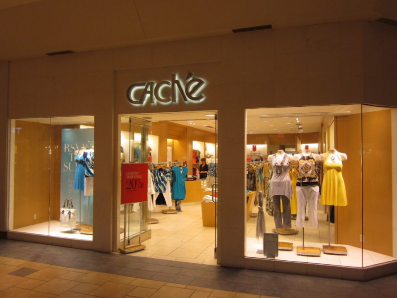 Dress Stores in the Mall
