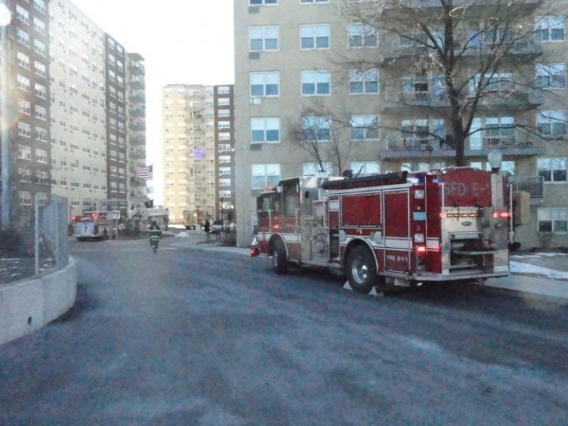underground generator fire at clarendon hill towers somerville ma patch. Black Bedroom Furniture Sets. Home Design Ideas