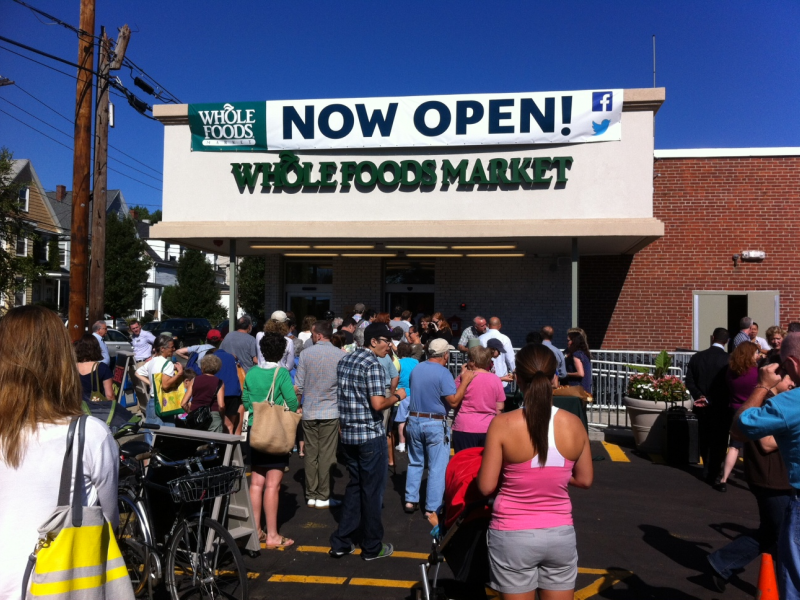 Somerville Whole Foods Opens In Inman Square Somerville Ma Patch
