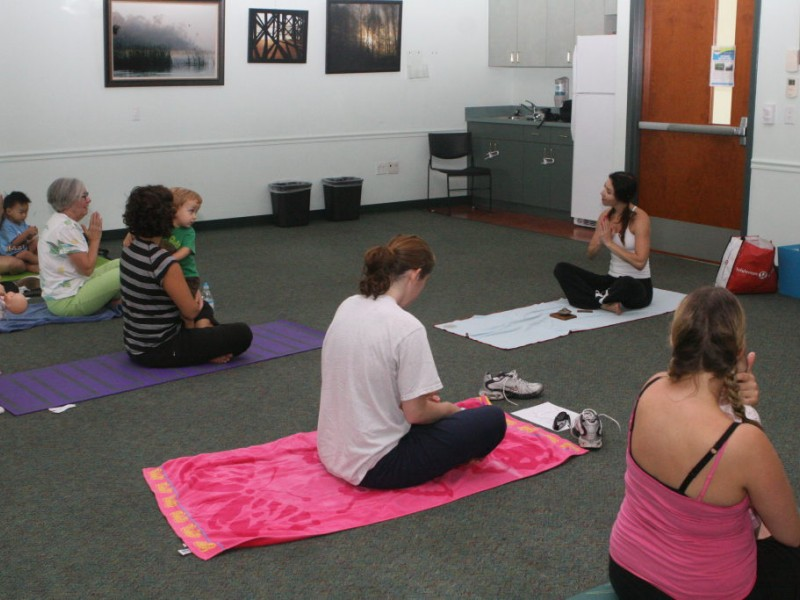 namaste baby mommy and me yoga class at westchase library westchase fl patch. Black Bedroom Furniture Sets. Home Design Ideas
