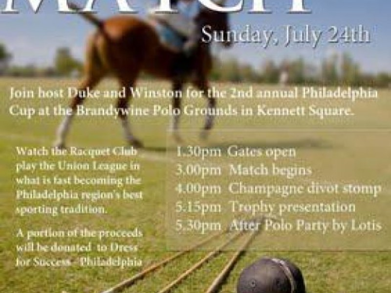 Philadelphia Polo Cup At Brandywine Polo Club West Chester PA Patch - Racquet club apartments west chester pa