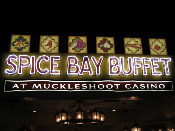 Muckleshoot casino spice bay buffet money lost to gambling