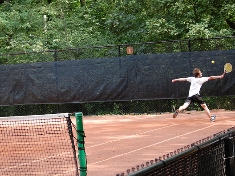 Frick Park Clay Court Tennis Club Celebrates French Open With Block
