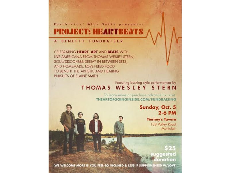 Project Heartbeats: A Fundraiser With Thomas Wesley Stern to