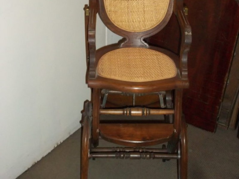 Antique of the Week: Eastlake-Style High Chair/Rocker   Kensington, MD Patch - Antique Of The Week: Eastlake-Style High Chair/Rocker Kensington