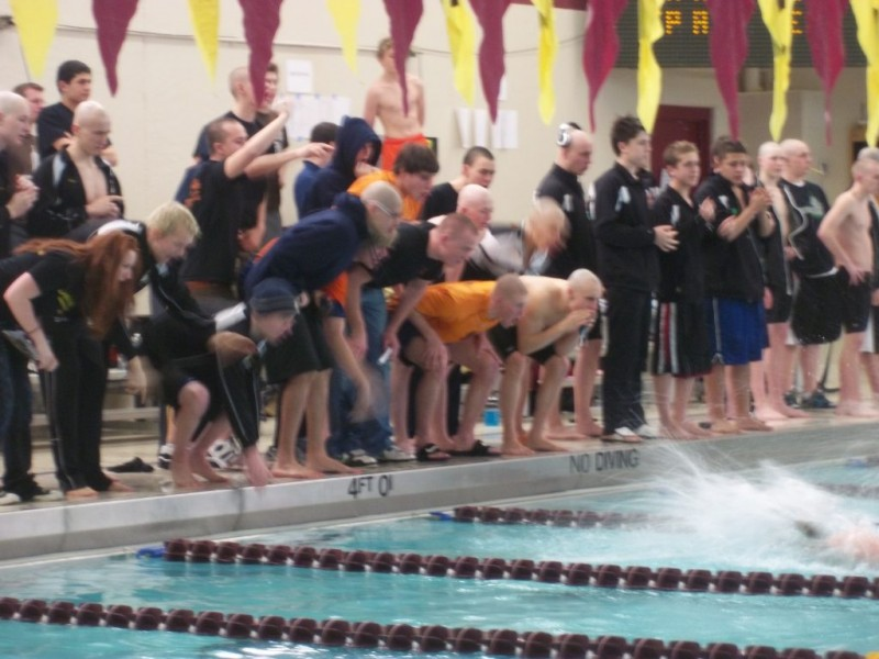 Boys Swimming Stoffel Stagg Edge Eagles For Sectional Title Palos Il Patch