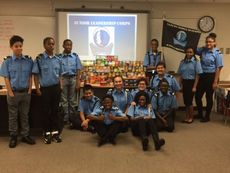 Lilburn Middle School Cadets Learn Selfless Service Lilburn Ga Patch