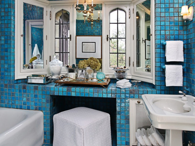 Designers Show House Showcases Pewabic Tile