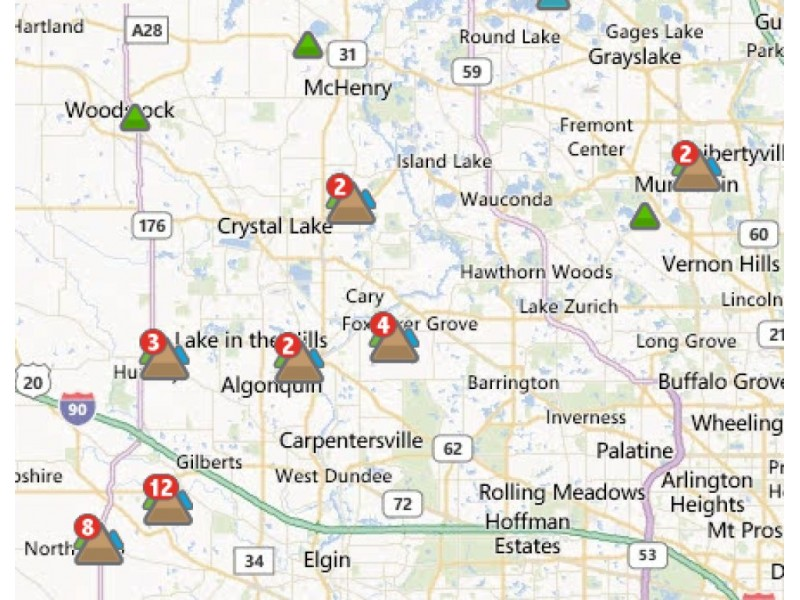 Comed Responds To Area Power Outages Huntley Il Patch