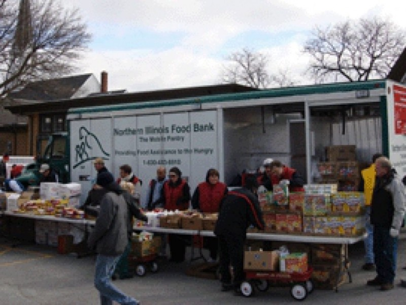Mobile food pantry making stop in huntley huntley il patch for Woodridge food pantry il