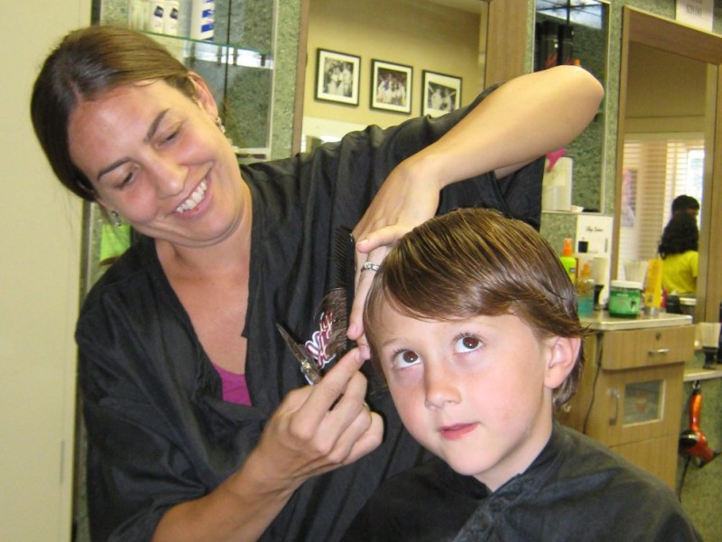 Back To School Freebie Haircut From Jcpenney Arlington Heights