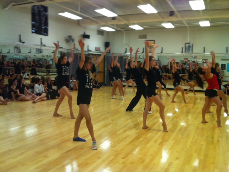 Bhs Orchesis Dancers Twirl Jump For Joy On New State Of The Art