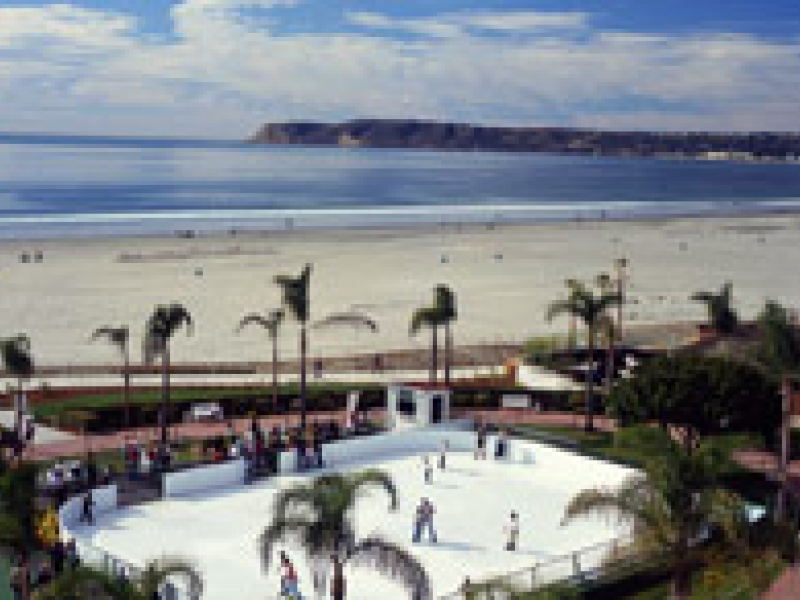 Seaside Ice Skating Opens At The Hotel Del Coronado Nov 27 Ca Patch