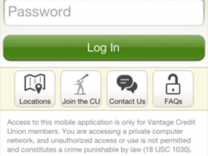 Vantage Credit Union Login >> Vantage Credit Union Launches Iphone Mobile App University
