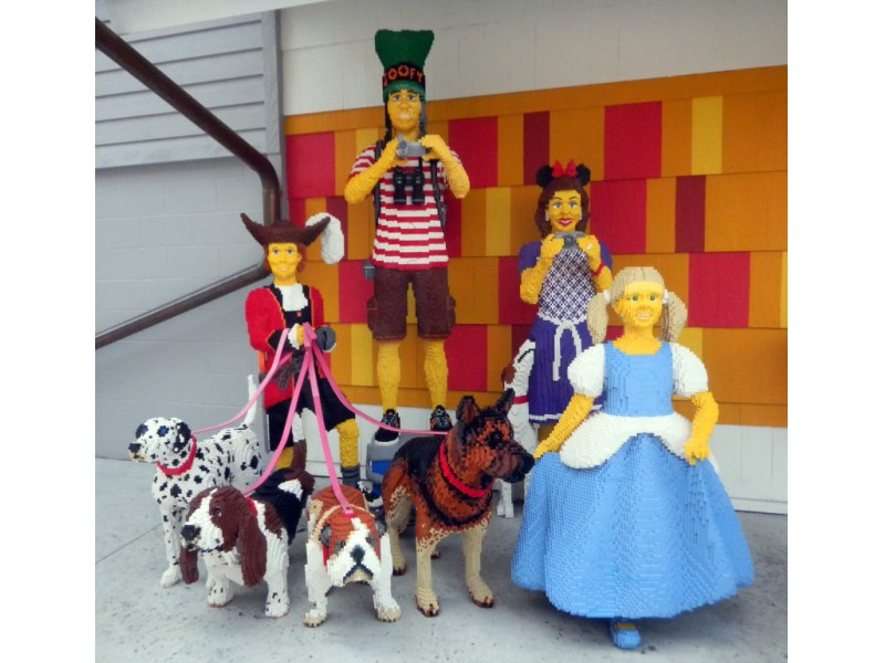 The Lego Art at Downtown Disney   New Port Richey, FL Patch