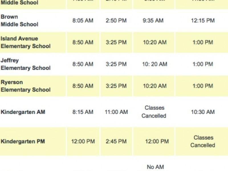 ... Madison Public Schools Bus Route Information-0 ...