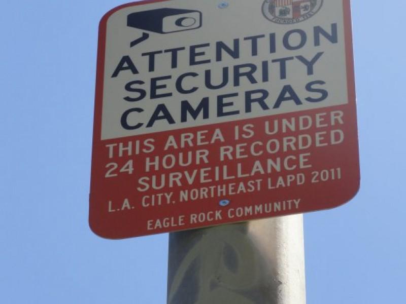 Rock Camera Surveillance : Second surveillance camera installed at yosemite rec center eagle
