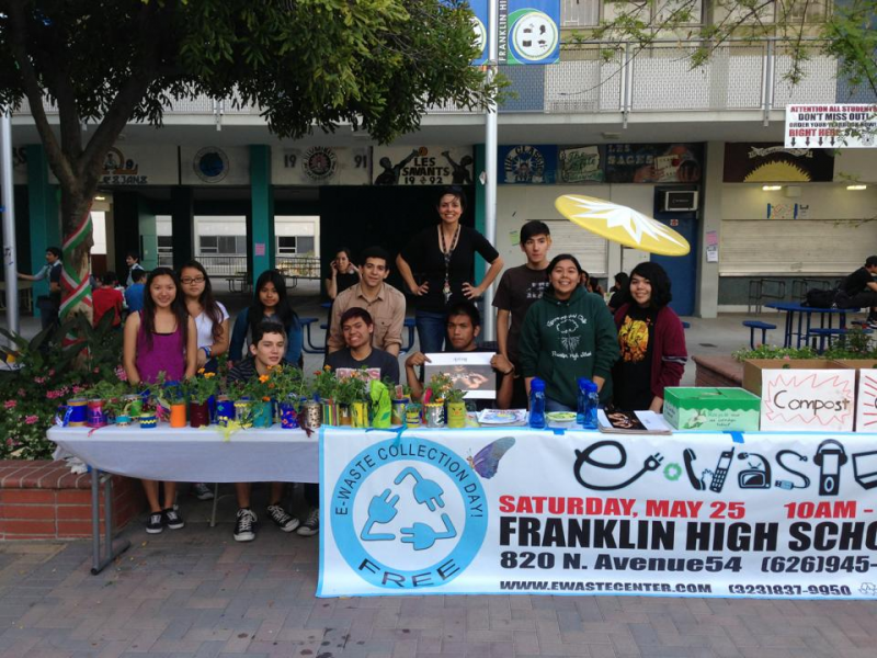 How A Franklin High Spanish Teacher Wants To Make Lausd Greener