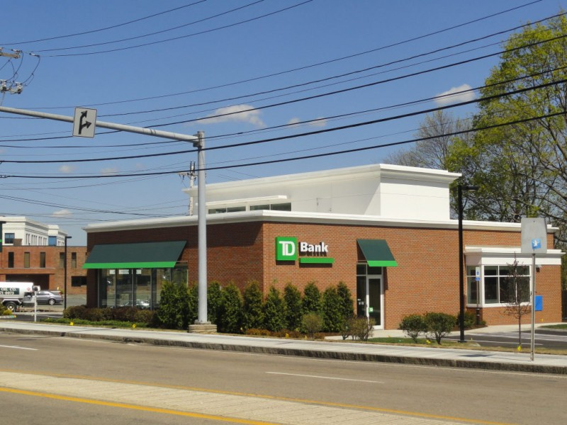 Grand Opening For New Td Bank At Five Corners In Braintree On May