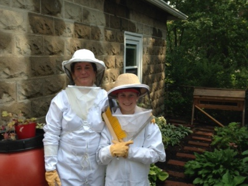 Milton Family Spreading Word of Backyard Beekeeping ...