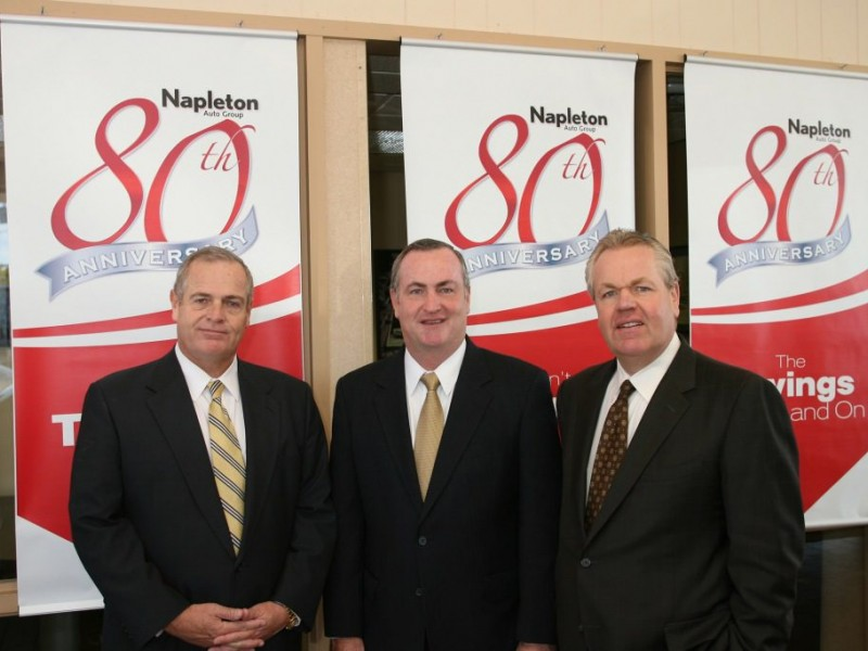 Napleton Auto Group >> Patriarch Drives A Lasting Legacy With Family Business | Palatine, IL Patch