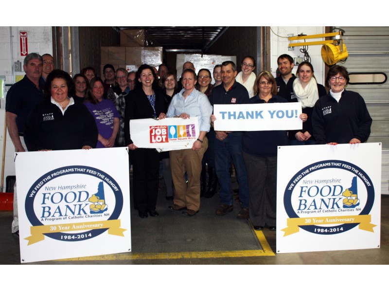 NH Food Bank Gets Big Donation for Ocean State Job Lot