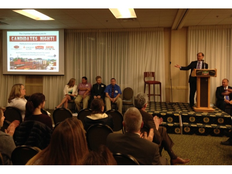 third image of Concord City Council Candidates with Concord City Council, Mayor Candidates Introduce ...