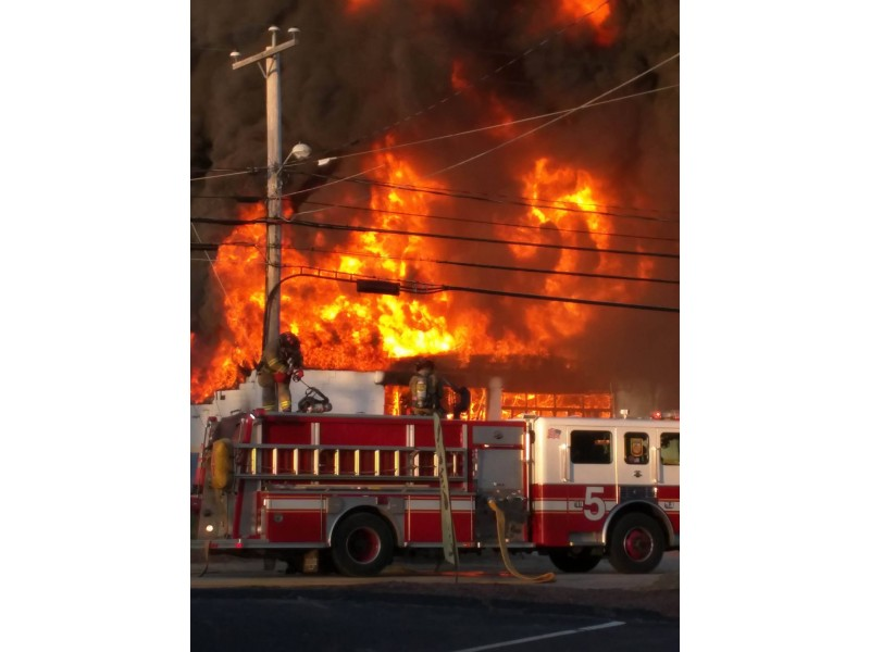 Three-Alarm Fire Reported on Manchester Street | Concord, NH Patch