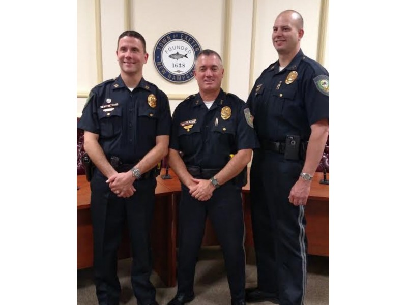 Exeter Detective Promoted To Captain Exeter Nh Patch