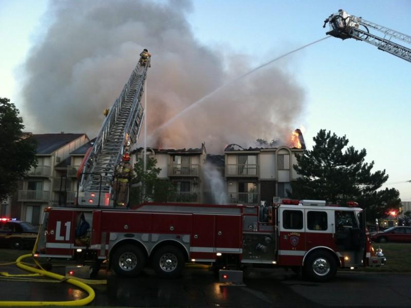 Fire engulfs wixom apartment building novi mi patch for Royal family motors canton