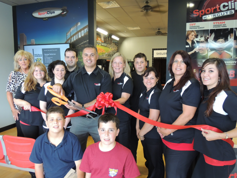 Hampton Area Chamber Cuts Ribbon For Sport Clips Haircuts In North