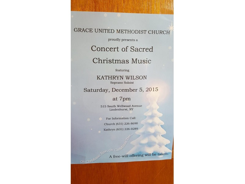 Concert of Sacred Christmas Music - Lindenhurst, NY Patch