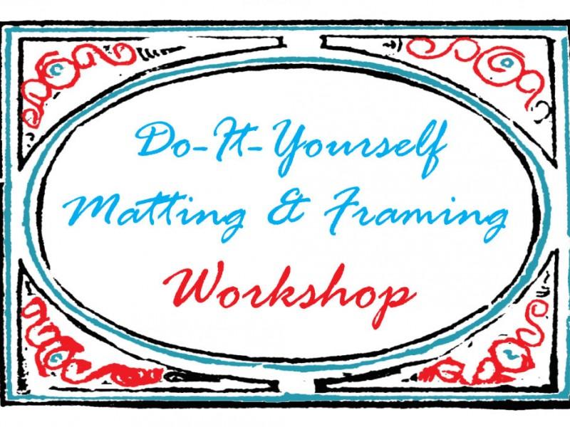 Matting and Framing Workshop | Manassas, VA Patch