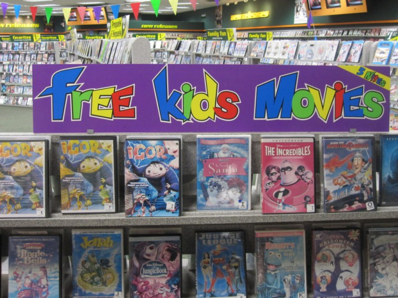 frugal family free kids 39 movies from family video kirkwood mo patch. Black Bedroom Furniture Sets. Home Design Ideas