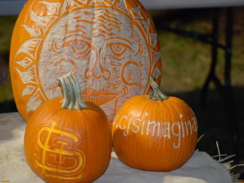 kirkwood pumpkin artist amazes kirkwood mo patch