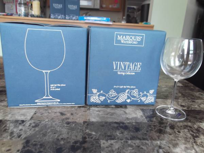Saw it on Craigslist: Marquis by Waterford Wine Glass Sets