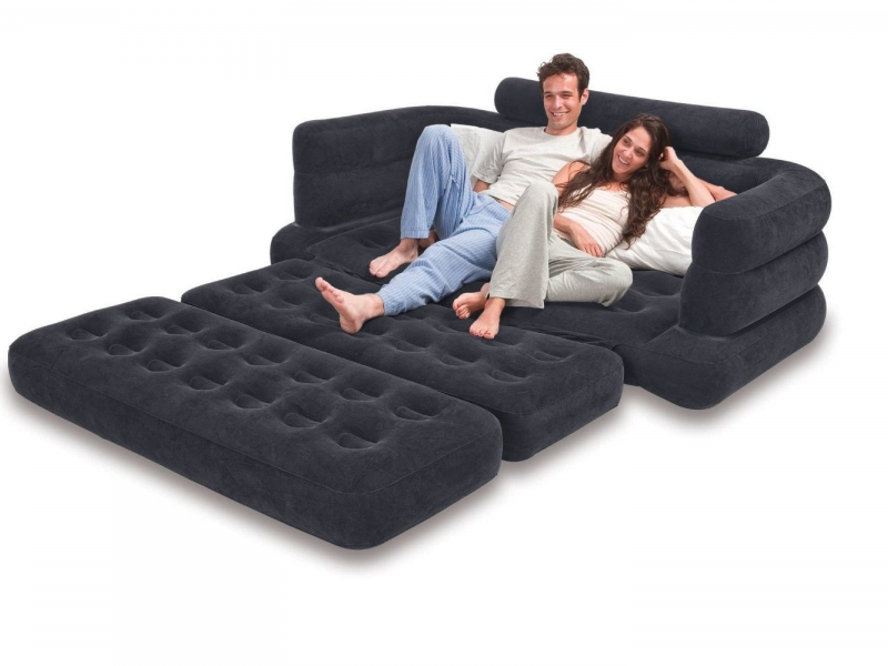 Saw It On Ebay Inflatable Airbed Sleeper Couch