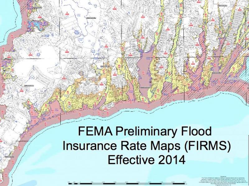 FEMA Releases Falmouths Preliminary Flood Insurance Map Falmouth