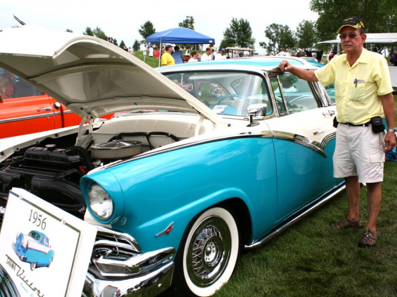 PHOTO GALLERY Rain Or Shine The Car Show Must Go On Ankeny IA Patch - Albaugh classic car show 2018