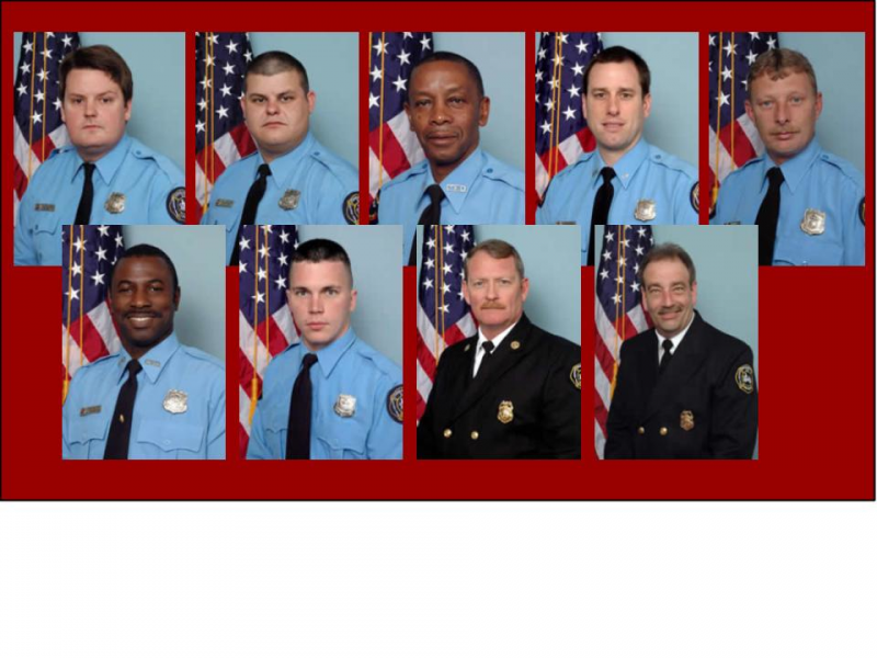 Fire Department Honors Fallen 9 By Looking To The Future