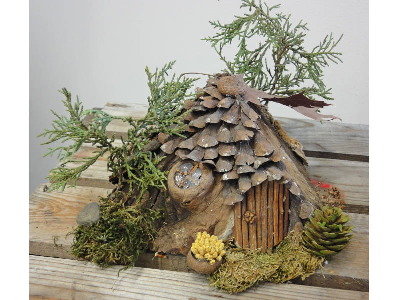 build a fairy house naperville il patch. Black Bedroom Furniture Sets. Home Design Ideas