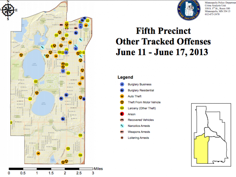 Crime Maps: Aggravated Assault, Weapons Arrests & Larceny ...