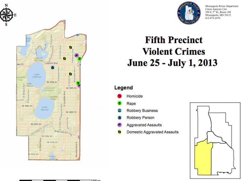 Crime Maps: Arson, Rape & Auto Theft | Southwest Minneapolis, MN Patch
