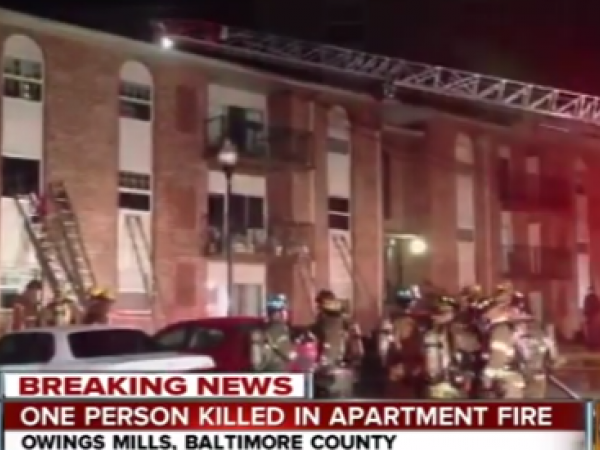 the man killed in a fire at painters mill apartments in owings mills